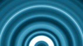 蓝色被定调子的弧圈 皇族释放例证