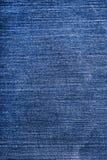 蓝色被撕毁的牛仔布牛仔裤纹理 免版税图库摄影