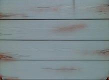 蓝色被绘的木板条 库存图片
