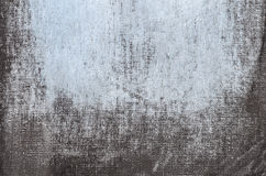 蓝色被绘的艺术性的帆布背景 免版税库存图片