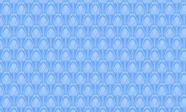 蓝色装饰品 皇族释放例证