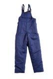蓝色裤子 图库摄影