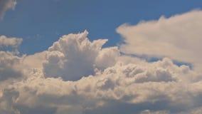 蓝色覆盖天空星期日 影视素材