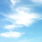 蓝色覆盖天空 向量背景 图库摄影