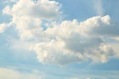 蓝色覆盖天空 图库摄影