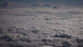 蓝色覆盖天空 影视素材