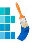 蓝色设计内部 免版税库存图片