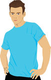 蓝色设计 免版税库存图片