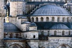 蓝色详细资料伊斯坦布尔清真寺火鸡 免版税库存图片