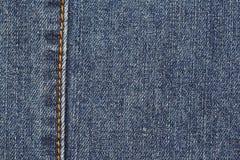 蓝色详细资料斜纹布 免版税库存照片