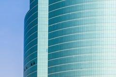 蓝色详细资料摩天大楼 免版税库存照片