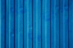 蓝色货船容器纹理 图库摄影