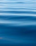 蓝色起波纹的水背景  库存照片