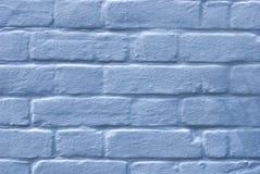 蓝色车号牌墙壁 库存照片