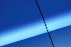蓝色车身 免版税库存照片