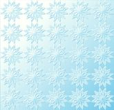 蓝色轻的模式星形 免版税库存照片