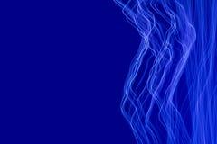 蓝色轻的绘的摄影背景 向量例证