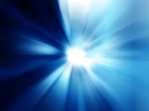 蓝色辐形抽象背景 皇族释放例证