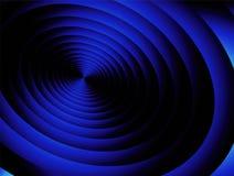 蓝色辐形 库存照片