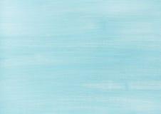 蓝色退了色被绘的木纹理、背景和墙纸 免版税库存照片