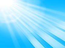 蓝色透镜天空 免版税图库摄影