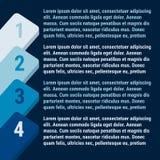 蓝色逐步的设计 也corel凹道例证向量 免版税图库摄影
