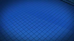 蓝色通知 向量例证