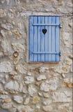 蓝色重点子线墙壁 免版税库存照片