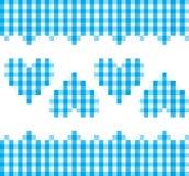 蓝色重点模式 免版税库存图片