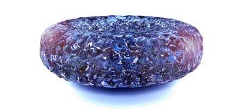 蓝色金刚石|蓝色水晶 库存图片