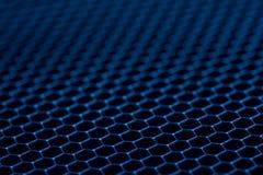 蓝色金属栅格背景 抽象背景 库存图片