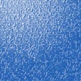 蓝色金属纹理 皇族释放例证