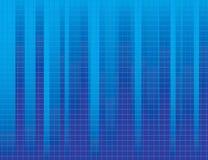 蓝色镶边背景 免版税库存图片