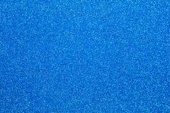 蓝色闪烁纹理圣诞节摘要背景 免版税图库摄影