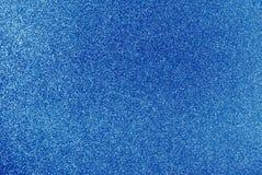 蓝色闪烁背景 库存照片