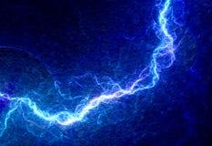 蓝色闪电 图库摄影