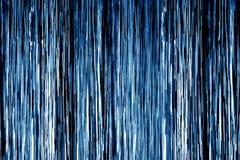蓝色阵雨水 皇族释放例证