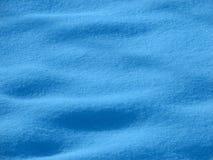 蓝色雪色彩 库存照片