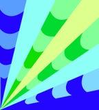 蓝色青绿有条纹背景 库存照片