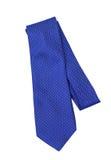 蓝色领带 免版税库存照片