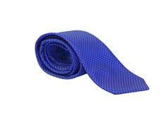 蓝色领带 免版税图库摄影