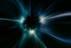 蓝色颜色摘要速度背景(力量概念) 免版税库存照片