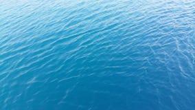 蓝色颜色海水安静和沉寂 免版税库存照片