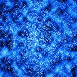 蓝色颜色溶解的大量  背景 图库摄影