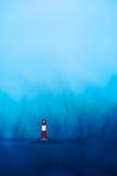 蓝色风景灯塔 图库摄影