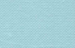 蓝色餐巾纸张 免版税库存照片
