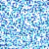 蓝色马赛克/镶嵌抽象纹理  皇族释放例证
