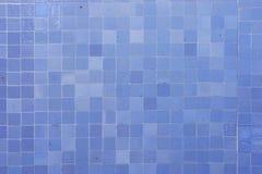 蓝色马赛克 免版税库存图片