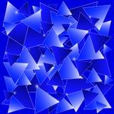蓝色马赛克 库存照片
