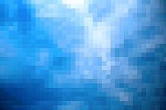 蓝色马赛克 免版税图库摄影